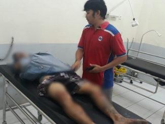 Alnafedi yang dilumpuhkan dengan timah panas saat dirawat.
