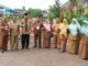 Bupati Limapuluh Kota poto bersama Usai memantau pelaksanaan UNBK di SMA i Harau,