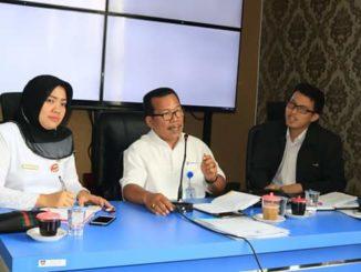 Jumpa pers BPS Kota Padang.