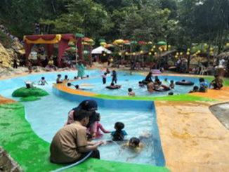 Obyek wisata Stream Park.