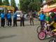 Pelepasan peserta lomba sepeda santai HUT Kab. Solok ke 105.