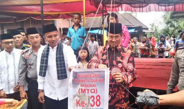 Peresmian MTQ ke 38 Tingkat Kec. Lembang Jaya, Kab. Solok.