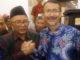 Refrizal usai terpilih sebagai Ketua Umum DPP PKDP.