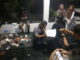 Suasana penandatanganan kontrak talent dengan Metronom Musik. (Dok. Istimewa)
