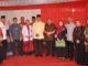 Foto bersama seusai peresmian gedng baru Puskesmas Andalas.