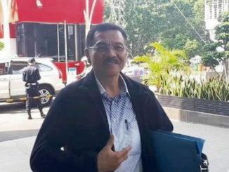 Gamawan Fauzi tiba di Gedung KPK, Jakarta, Selasa pagi