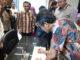 Gubernur Sumatera Barat Irwan Prayitno menandatangani prasasti peresmian gedung baru Dewan Perwakilan Rakyat Daerah DPRD Provinsi Sumatera Barat.