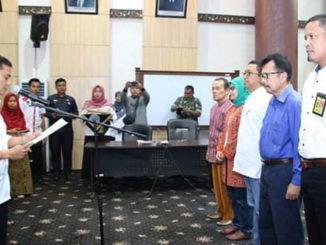 Pengkuhan Forum Korrdinasi DAS Kota Padang.
