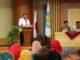 Prof Ganefri saat memberi pengarahan pada kunjungannya ke FIP UNP.