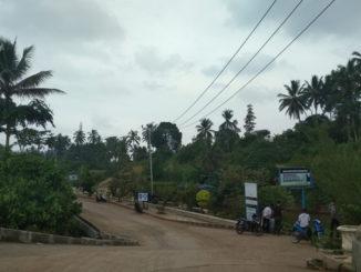 Salah satu kawasan Sungai Batang Agam yang akan jadi pusat perekonomian baru di Payakumbuh.