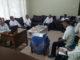 Wagub Nasrul Abit saat rapat teknis pembahasan soal lahan jalan tol di Kantor Badan Pertanahan Nasional (BPN) Sumbar.