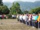 Bupati Gusmal saat memimpin apel gabungan di jajaran Pemkab Solok.