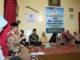 Leonardy Harmainy bersama lansia yang diayomi Yayasan Ar Rasyid Koto Gadang.