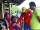 Leonardy saat berdialog dengan lansia di Ulak Karang.