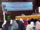 Nasrul Abit pada acara pelatihan QoriQori'ah, MusafirMufasirah, dan HafizHafizah, di Asrama Haji Padang.