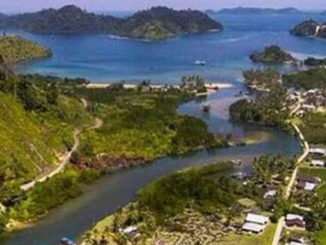 Sesudut keindahan Desa Sungai Nyalo.