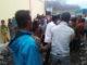 Suasana saat penyambuta caleg DPR RI dan Kab. Kerinci di Gunung Tujuh, Kerinci.
