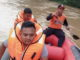 Tim BPBD Kab. Limapuluh Kota di lokasi banjir.