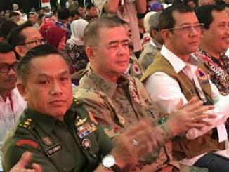 Wakil Gubernur Sumatera Barat Nasrul Abit pada Rapat Koordinasi Nasional BNPB se Indonesia di Jatim Expo Surabaya