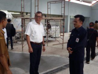 Walikota Payakumbuh bersama kepala BPOM meninjau temoat centra produksi Randang Payakumbuh.