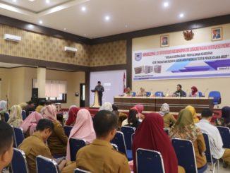 Penyuluhan tentang ke arsipan kepada ASN dari berbagai OPD dan Kecamatan e-Kota Payakumbuh.