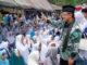 Bupati Indra Catri saat menghadiri pertemuan jamaah BKMT se Sumbar di Lawang Park Matur, Kab. Agam.