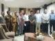 Bupati Pasaman H.Yusuf Lubis bersama Mr Shin Hwuan, Mr Sohn, Mr Cho Director, MRS IM Director, dan Profesor KIM advisor Company.
