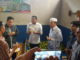 Bupati Pasbar Syahiran saat berbicara tentang makanan produk lokal.