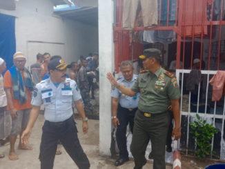 Danrem 032/Wirabraja saat mengunjungi Lapas Muaro Padang.