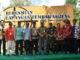 Foto bersama seusai peresmian Lapangan Tembak di Sinjai.