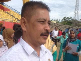 Kabid olahraga Dispora Kota Padang Yuherdi SPd
