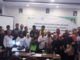 Kepala BPJS Kota Padang bersama anggota IKW Sumbar.