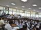 Ketua Komisi V DPRD Sumbar Hidayat saat menerima siswa SMA 5 Padang di DPRD Sumbar