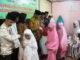 Pemberian bantuan buat santri dan guru MDA Surau Nurul Yakin.