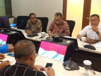 Rapat Pembahasan Rencana Pemekaran Desa dan Intervensi Pembangunan Kabupaten Kepulauan Mentawai.