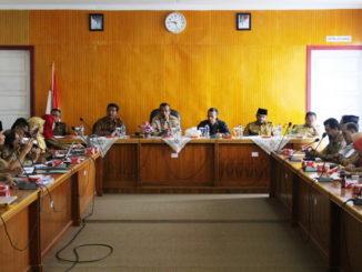 Rapat forum SKPD di Kab. Solok.