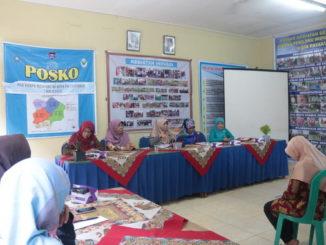 Rapat persiapan di aula Kantor PKK kota Payakumbuh.