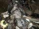 Sepeda motor yang hancur ditabrak mobil Avanza di Sinjai.