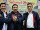 Syahrial Bakhtiar bersama Fakhrizal dan Rildo Ananda Anwar.