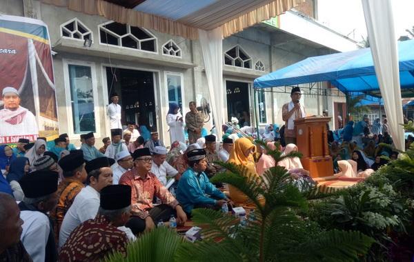 Tabligh Akbar yang digelar Forum Dakwah Yasin (FDY) Provinsi Sumatera Barat di Mesjid Al Muttaqin Kelurahan Tanjung Pauh Kec. Payakumbuh Barat Kota Payakumbuh.