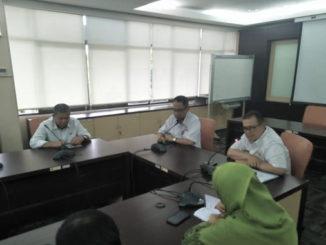 Wagub Nasrul Abit pada pertemuan Pemprov Sumbar dengan Badan Penelitian Dan Pengembangan Pertanian Kementerian Pertanian RI.