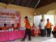 Bupati Andi Seto saat Simulasi pencoblosan Pemilu 2019 di Sinjai.
