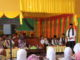 Bupati Gusmal saat memberi sambutan pada launcing SUBP Mandiri di Kec. Gunung Talang.
