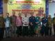 Bupati Gusmal saat menghadiri Mubes IKPM Bali di Denpasar.