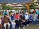 Bupati Irdinansyah Tarmizi bersama Ny.Emi Irdinansyah menghadiri acara Senam Sehat Pensiunan.