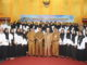 Bupati Syahiram bersama CPNS yang mengikuti Pelatihan Dasar.