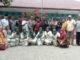 Foto bersama seusai penyluhan hukum di Malalo.