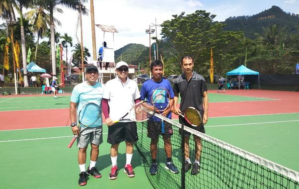 Ganefri dan pasangan yang tak berkutik pada Piala Walikota Sawahlunto.