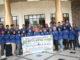 Karateka UNP yang ikut Kejuaraan Karate Mahasiswa se Sumatera.