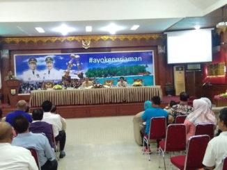 Monitoring dan evaluasi rencana aksi pencegahan korupsi terintegrasi di Pemko Pariaman.